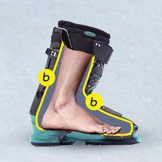 выбрать ботинки для лыж
