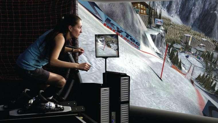 Катание на сноуборде или горных лыжах когда не сезон или нет снега