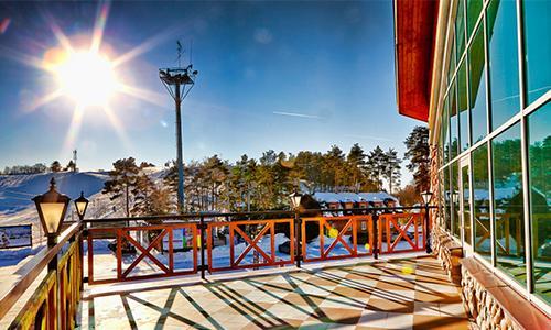 Олимпийцы на Северном склоне в Токсово.